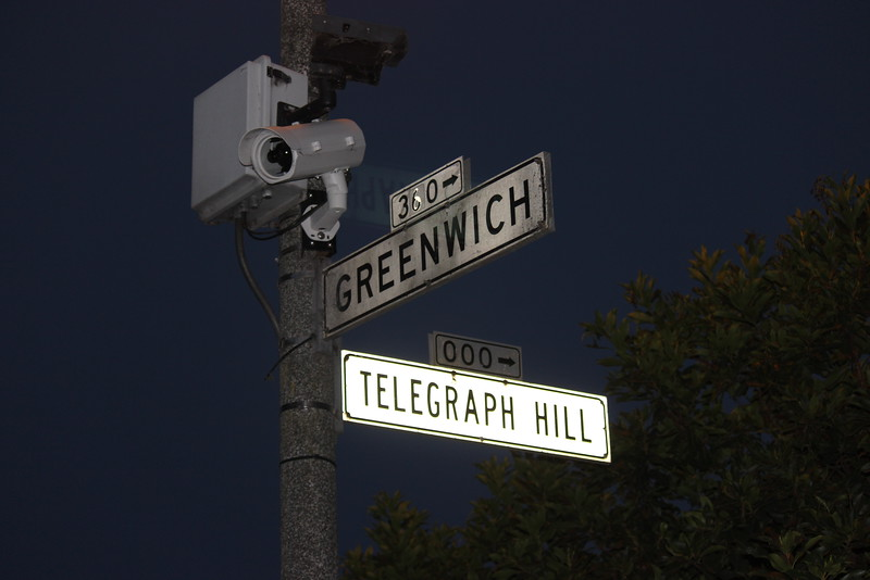 Teloegraph Hill Street Sign