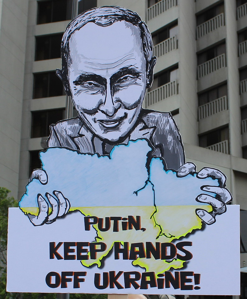 Putin Keep Hands Off Ukraine