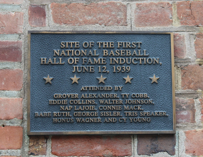 Baseball Hall of Fame Plaque