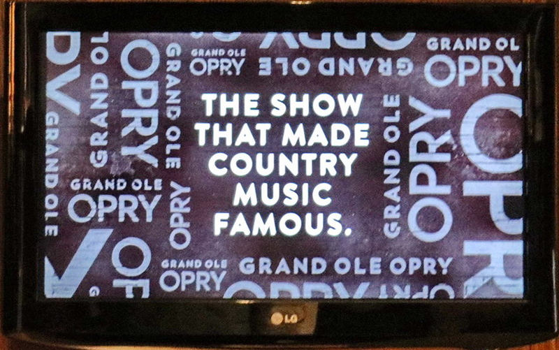Garnd Ole Opry and Country Music
