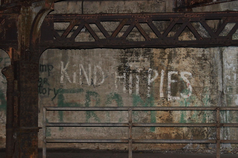 Kind Hippies Graffiti