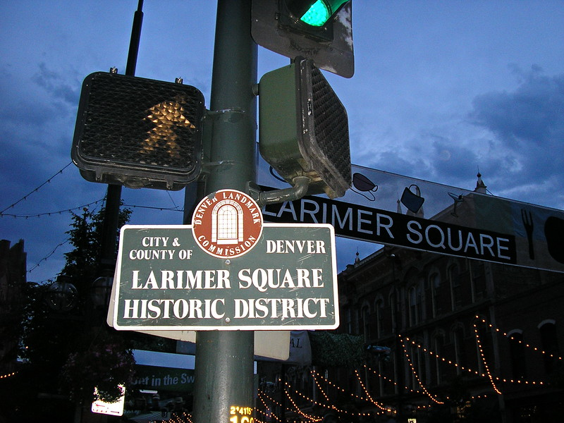 Larimer Square Historic District