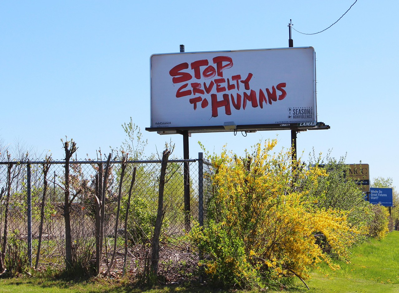 Stop Cruelty to Humans