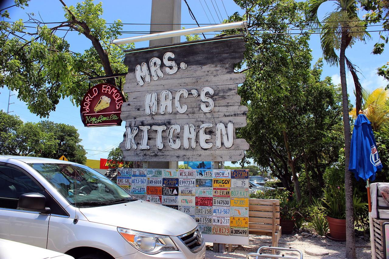 Mrs. Mac's Kitchen Sign