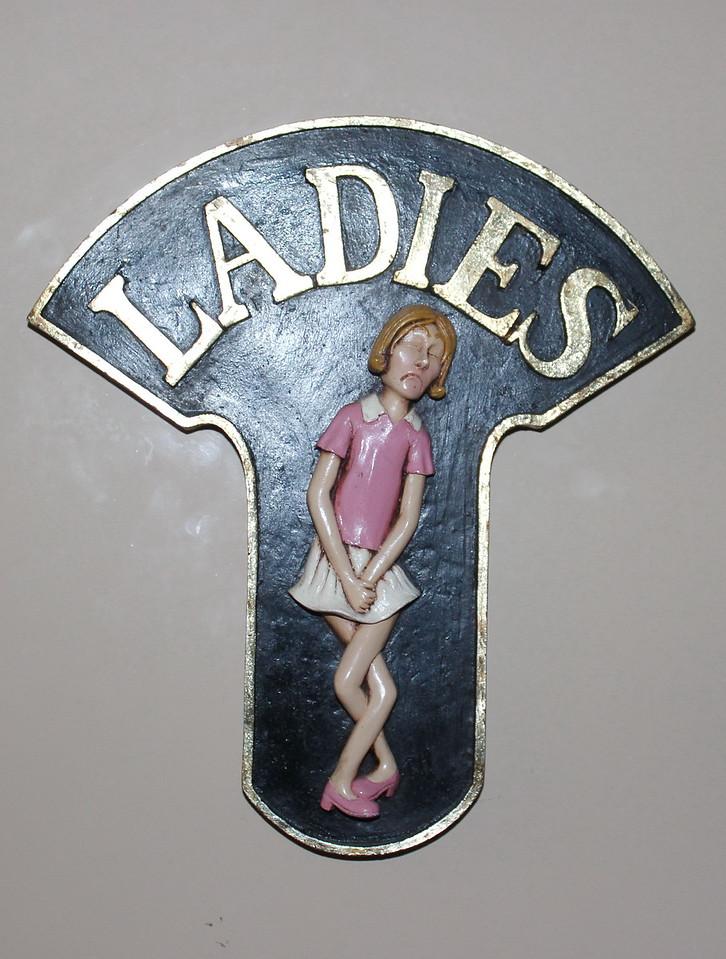 Women's Restroom Sign