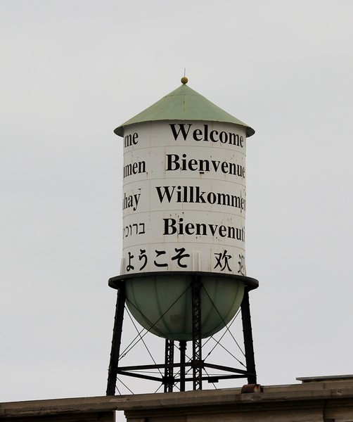 Welcome Water Tank