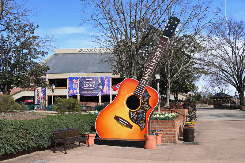 Grand Ole Opry Guitar Sign