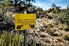 Warning Sign for Rattlesnakes
