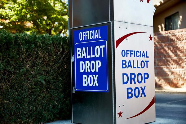Voting Ballot Drop Off Box