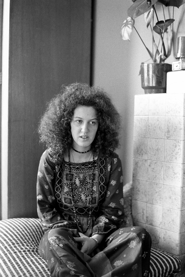 Nikki Livingston, West Hampstead. (1974)