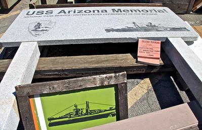 USS Arizona Memorial Sign for Sale