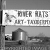 Sign in the Illinois River Valley in the heartland of Illinois.