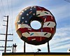 Patriotic Donut - I don't know where I was......