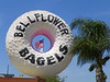 Bellflower Bagels - Originally one of the 10 Big Donut chain of drive-ins which began in 1950.