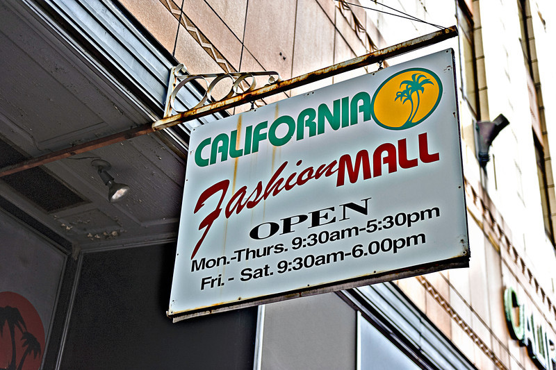 california fashion mall