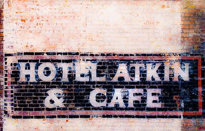 Hotel Atkin & Cafe, Milford, Utah, 2000