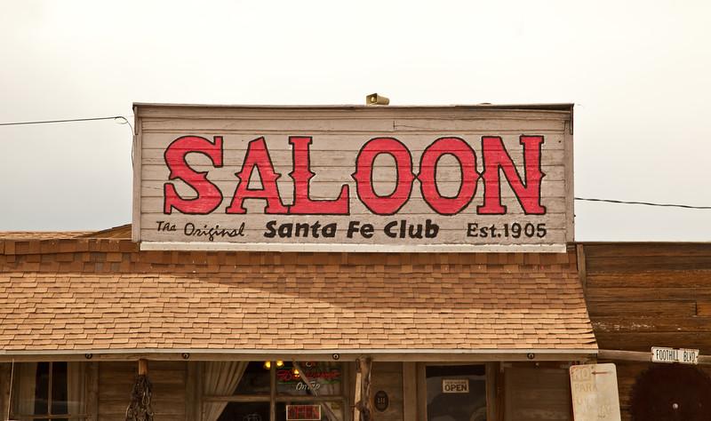 The Original Santa Fe Club Saloon (Est. 1905)