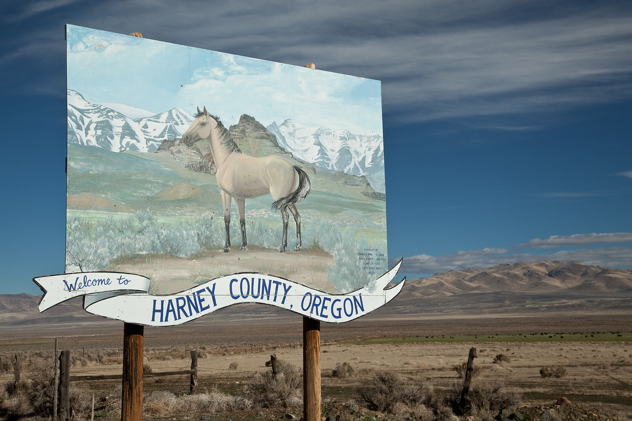 Welcome to Harney County, Oregon