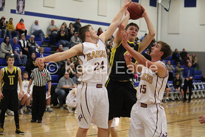 Keota Boys Bball vs Tri-County (Districts) 2/15/18