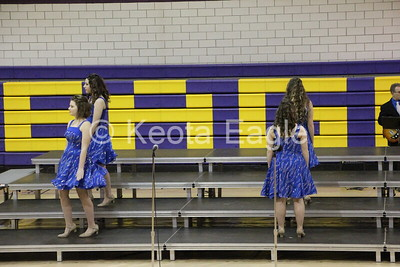 Keota EagleRock Show choir competition