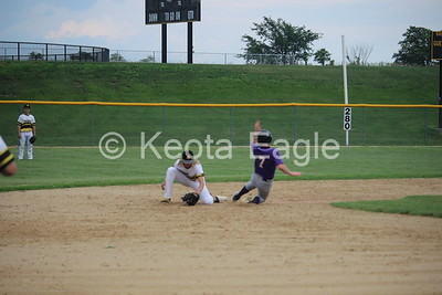 Keota @ Sigourney (baseball) - June 22, 2018