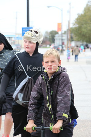 Keota Trick or Treat Up and Down Main Street 2017