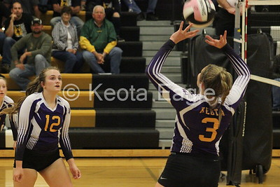 Keota VB @ New London - October 22, 2018