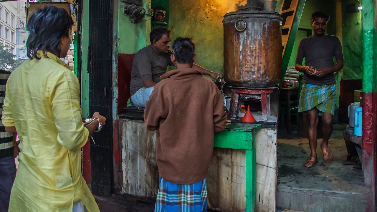 Calcutta, India street photography - Armenian neighborhood