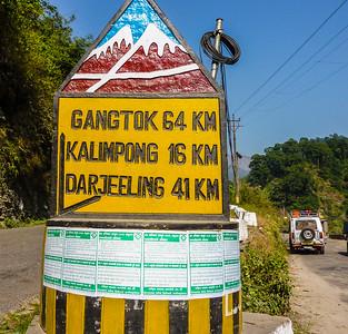 Drive from Pelling to Darjeeling