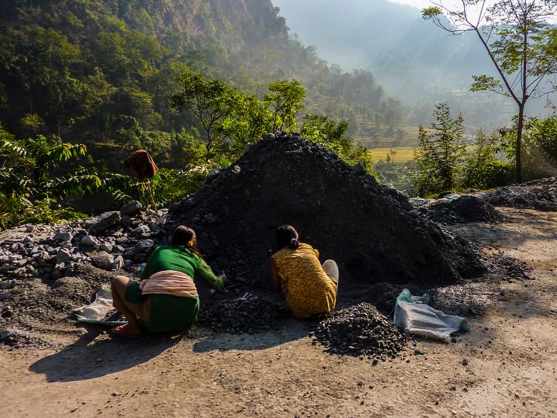 Driving from Pelling to Darjeeling (Glenburn Tea Estate)