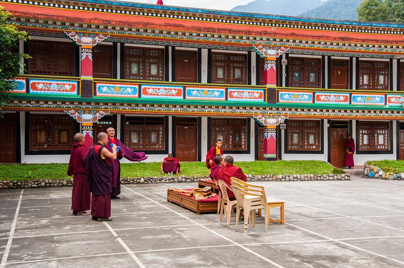Lingdum Gompa, Gangtok, Sikkim, India