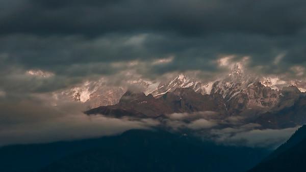 Mt. Pandim Himalayas, Pelling