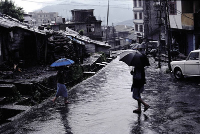 A monsoon evening in Gangtok