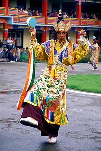 Dancer at Ralang Monastery