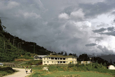 A monsoon afternoon on the outskirts of Gayzing, West Sikkim