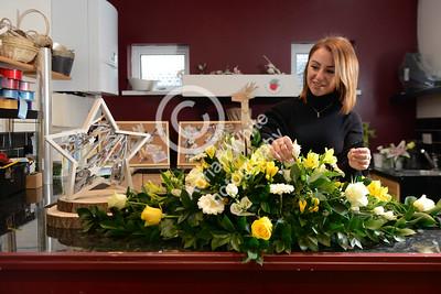 Silcox Family Funerals Llanelli. Family Florist Caitlin Silcox.