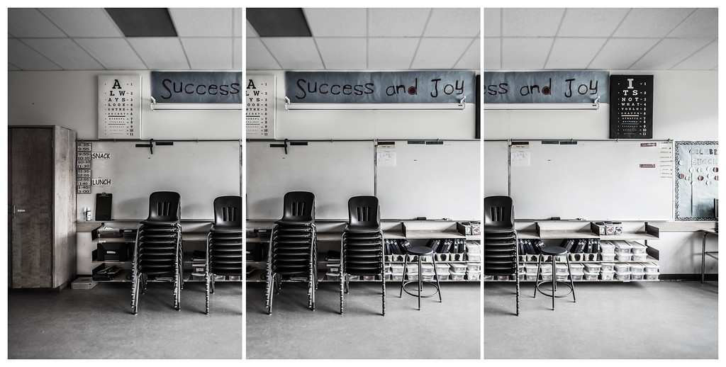 Success and Joy - Triptych, 2015. ©Luke Potter