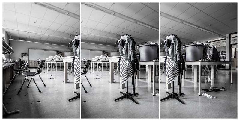 Textiles - Triptych, 2015. ©Luke Potter