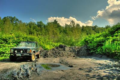 Cherokee Logging Trail HDR