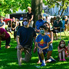 KRISTOPHER RADDER — BRATTLEBORO REFORMER<br /> Several hundred people kneeled for 8 minutes and 46 seconds in honor of George Floyd, who was killed by Minneapolis Police on May 25, 2020, during a Black Lives Matter silent protest at the Brattleboro Common, in Brattleboro, Vt., on Friday, June 12, 2020.