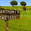 St. Anthony's Cemetery in Pescadero, California