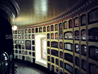 Aisle of Niches at the San Francisco Columbarium