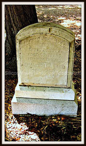Alfred John Beer and Charlotte A. Beer Gravestone