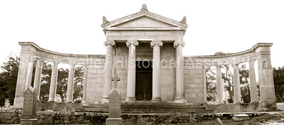 Mausoleum at St. John's Cemetery in San Mateo, California