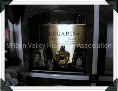 Bugarin niche at the San Francisco Columbarium