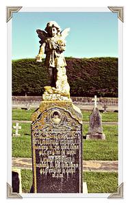 Filomena and Lena Cerelli grave at the Italian Cemetery in Colma