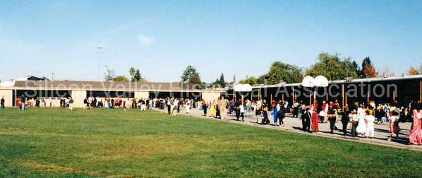 Halloween 2002 at Duveneck Elementary School in Palo Alto, California
