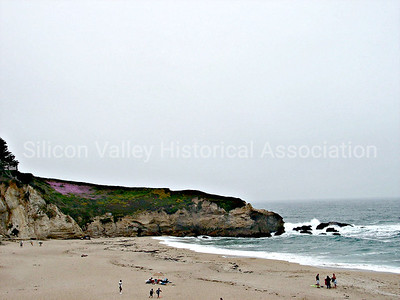 Beach at Princeton by the Sea, California