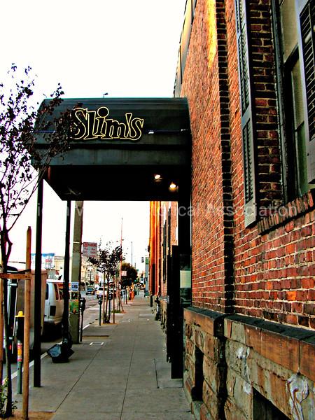 Slim's Live Music Venue in San Francisco, California