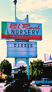 El Real Nursery Landscaping in Santa Clara, California - Closed for business in 2009